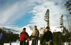 Louis, Josh and I. 2001/2002.