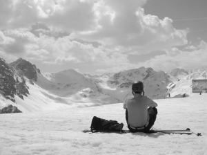 Spring skiing @Axamer Lizum