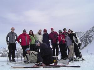 The entire crew