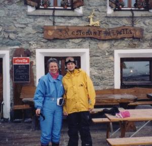 My Swiss Mom Doris and I