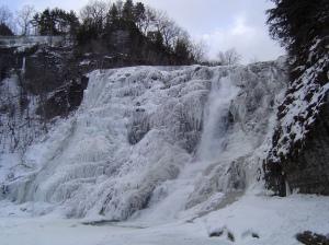 Ithaca ice Falls