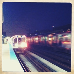 CTA Holiday Train.