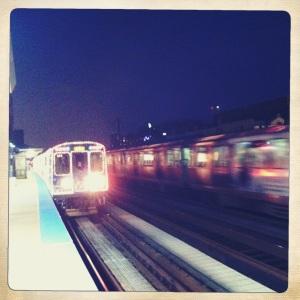 CTA Holiday Train.