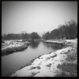Beautiful, but brrrrr cold!