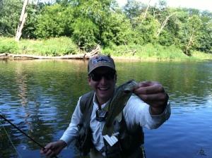 First bass of the summer.
